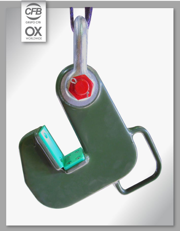 Pinzas de Elevación OX TPH-HD 16,5