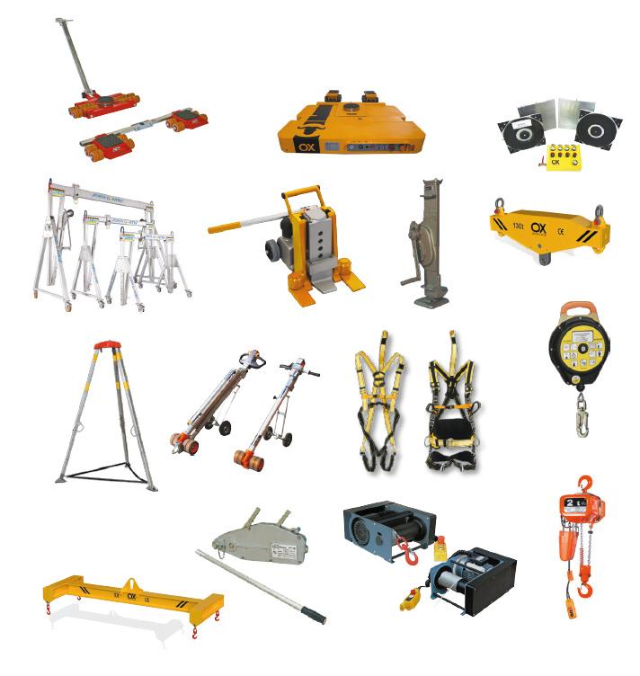 Alquiler de maquinaria productos
