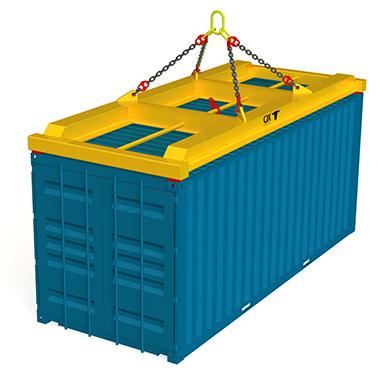 spreader container Cargo Flet Blasant