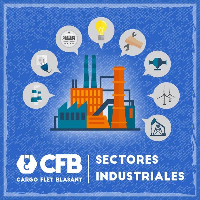 Sectores industriales Cargo Flet Blasant