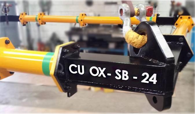 balancin de carga rectangular o spreader frame