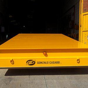equipos de elevación y manutención de cargas Ox Worldwide carros motorizados