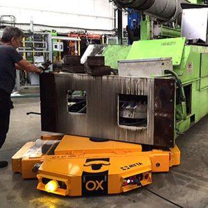 equipos de elevación y manutención de cargas Ox Worldwide Tanquetas de carga