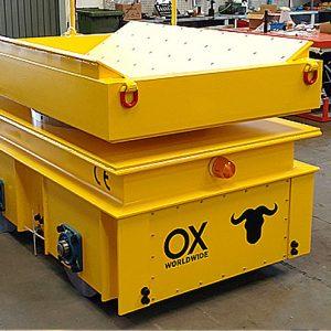 equipos de elevación y manutención de cargas Ox Worldwide carros portabobinas