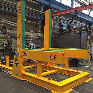 equipos de elevación y manutención de cargas Ox Worldwide carros volteadores