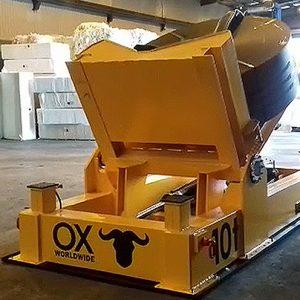 equipos de elevación y manutención de cargas Ox Worldwide carros volteadores 1