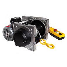 Cabrestante eléctrico TRBOXTER COMPACT Huchez