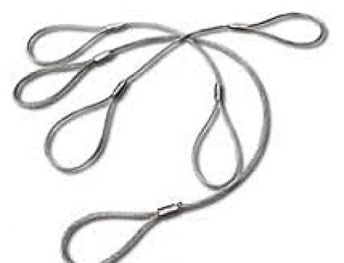 Eslingas de cable acero