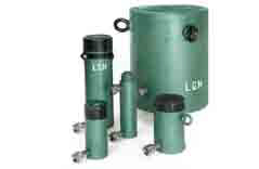 alquiler de material de elevación cilindros