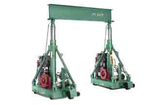 alquiler de material de elevación pórtico hidráulico