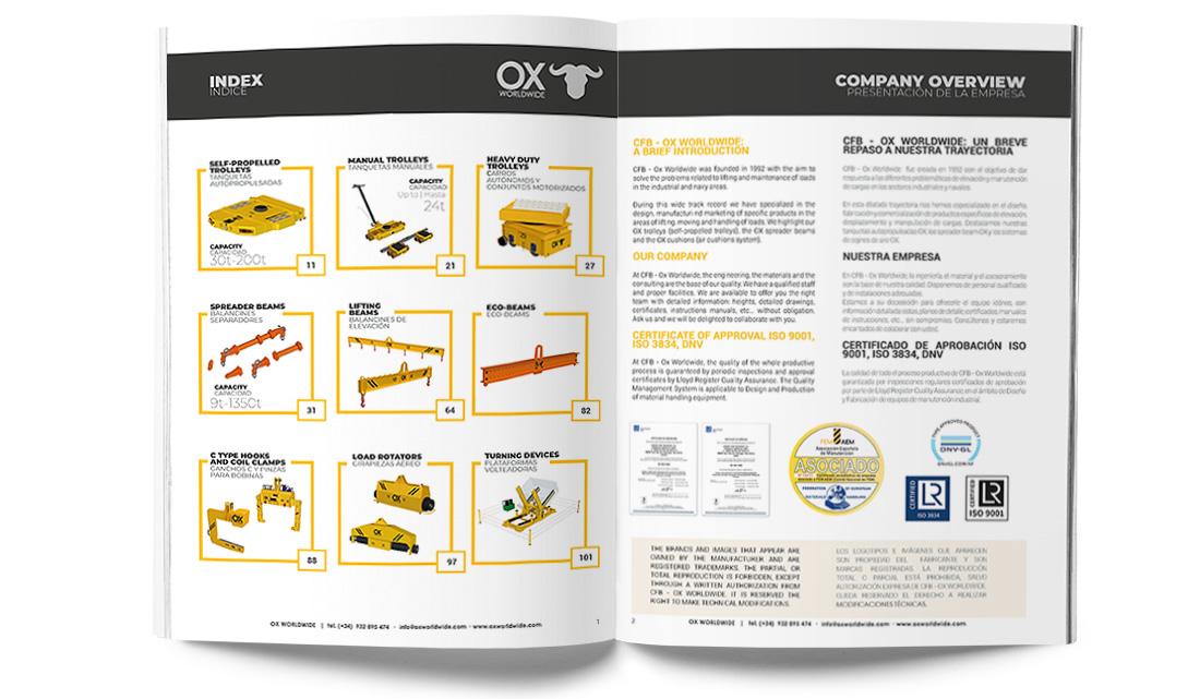 catálogo Ox Worldwide captura de imagen 2