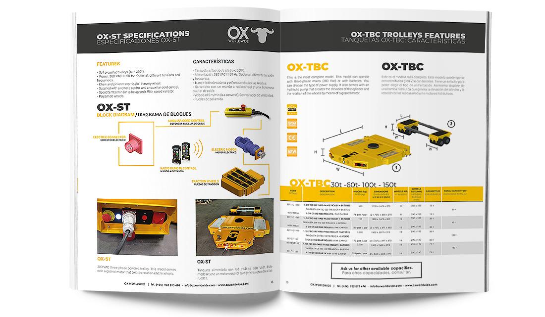 catálogo Ox Worldwide captura de imagen 4