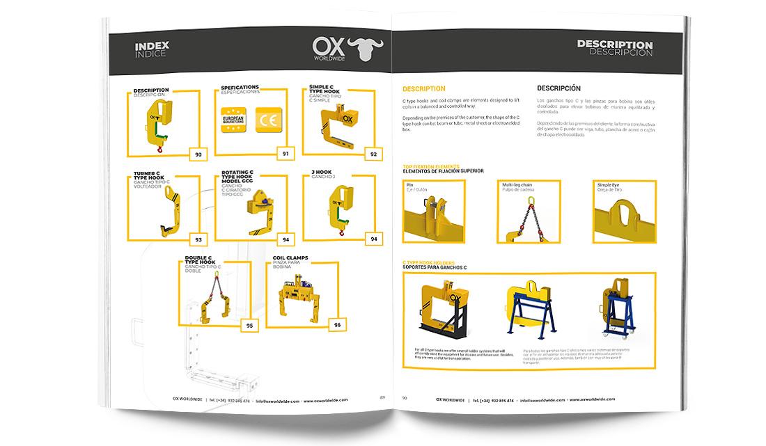 catálogo Ox Worldwide captura de imagen 6