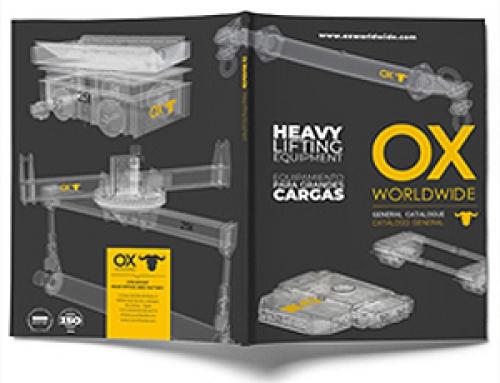 Nuevo catálogo Ox Worldwide nuestra marca de equipamientos para grandes cargas