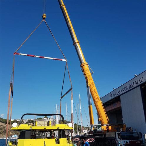 equipos de elevacion grandes cargas Ox Worldwide 1