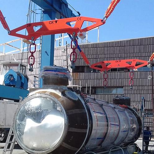 equipos de elevacion grandes cargas Ox Worldwide 4