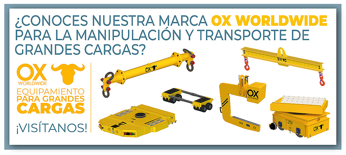 Ox Worldwide - Equipamiento para grandes cargas