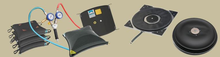 reparación de cojines de elevación y cojines de aire