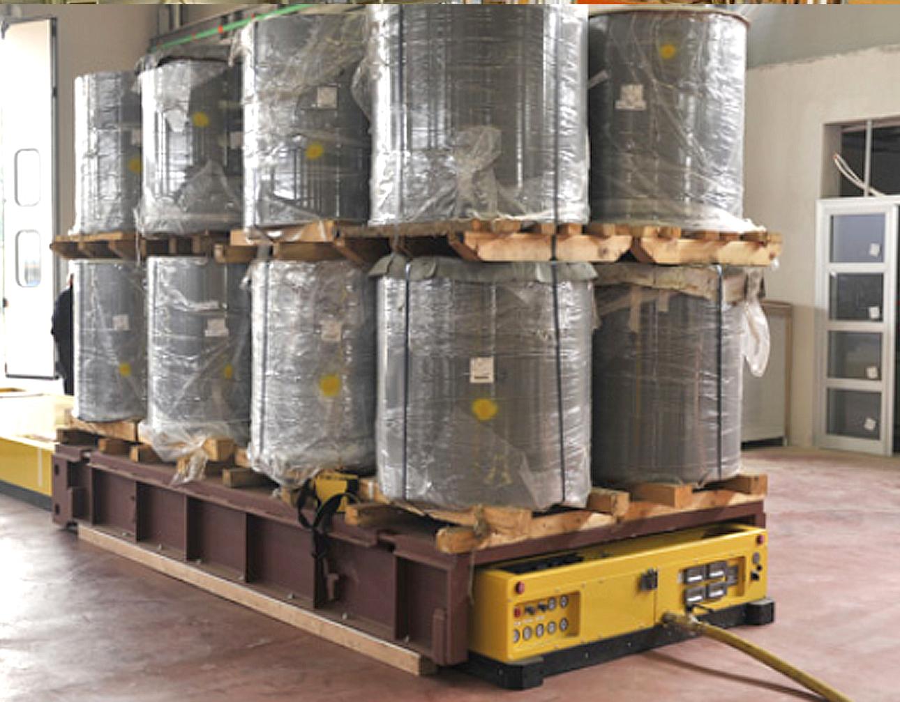 palets de aire mover cargas