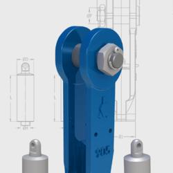 EXTRA CONECTOR RAPIDO PARA CABLE GRANDES CARGAS Accesorios de elevacion para grandes cargas