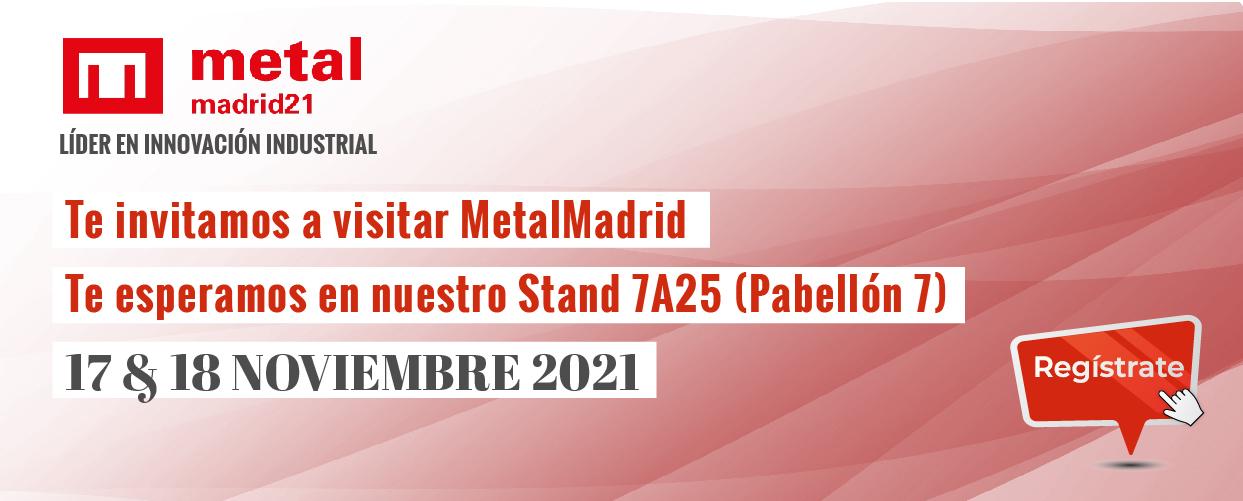 Cargo Flet Blasant te invita a visitar Metalmadrid21