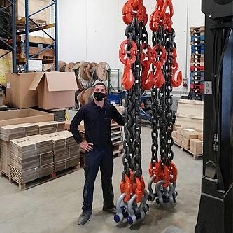 Pulpo de cadena 85 toneladas