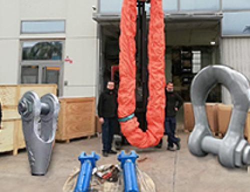 Accesorios de elevación para grandes cargas